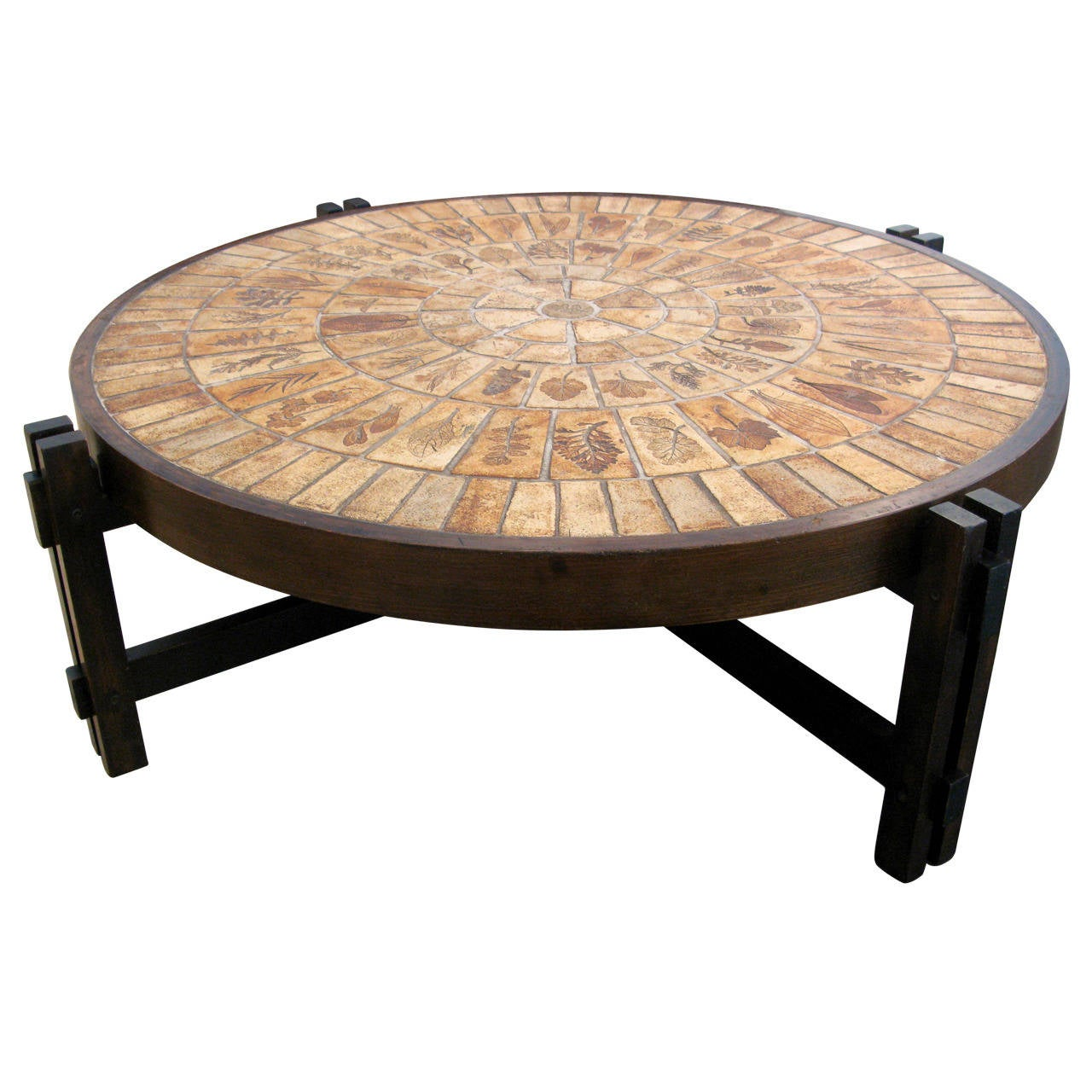 Original Roger Capron Coffee Table At 1stdibs