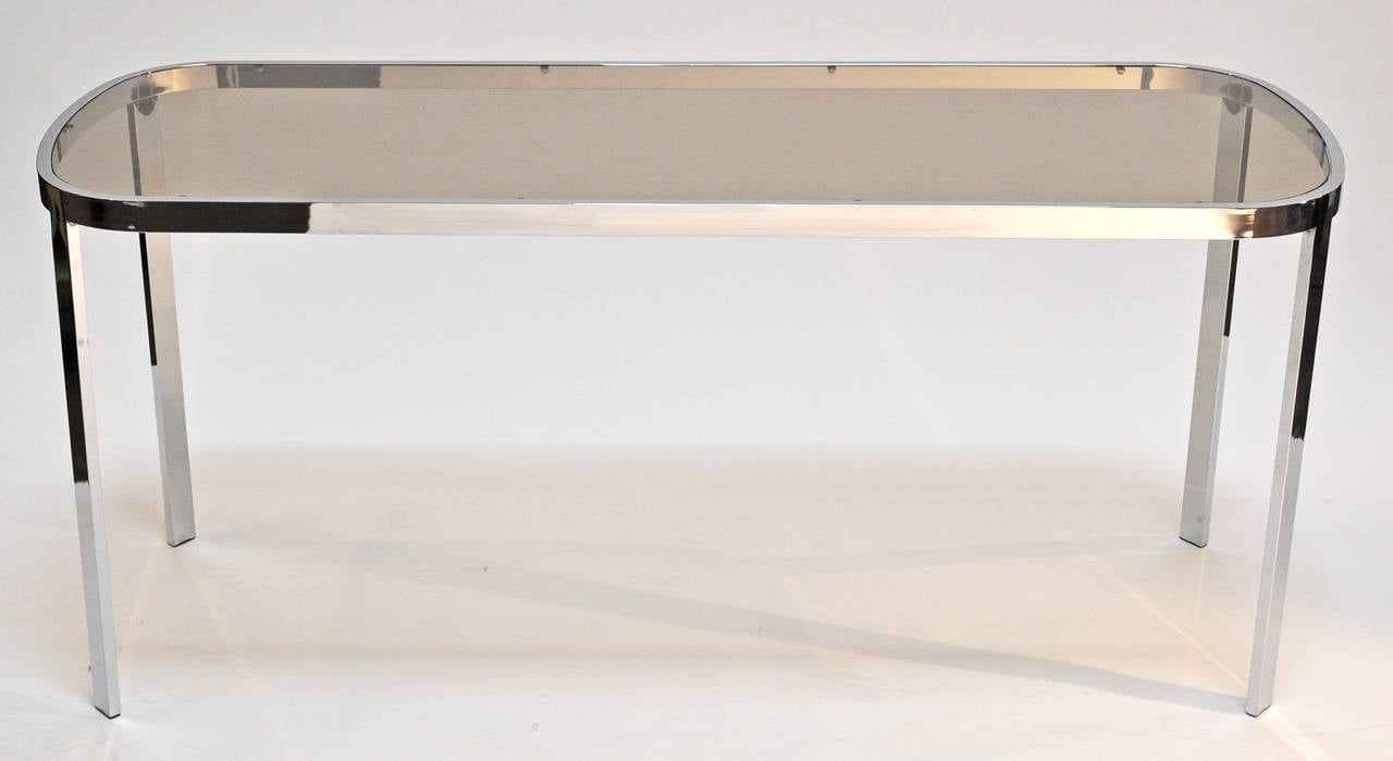Mid-Century Modern Console Table Milo Baughman For Sale