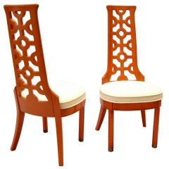 1960s - Pair of Decorative Chairs