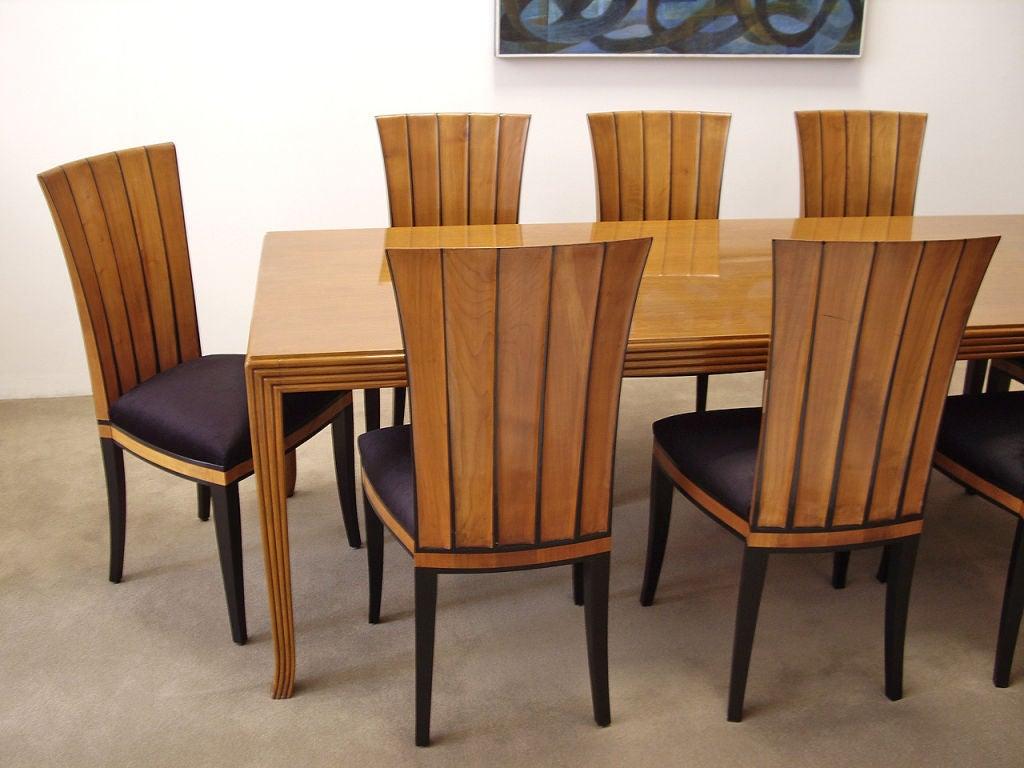 Ten Dining Chairs Designed By Eliel Saarinen At 1stdibs
