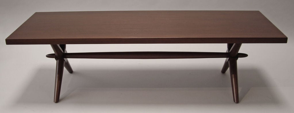 Mid-Century Modern  T.H. Robsjohn-Gibbings for Widdicomb Coffee Table For Sale