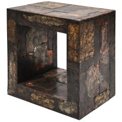 Paul Evans (1931-1987) Patchwork Side Table circa 1960s