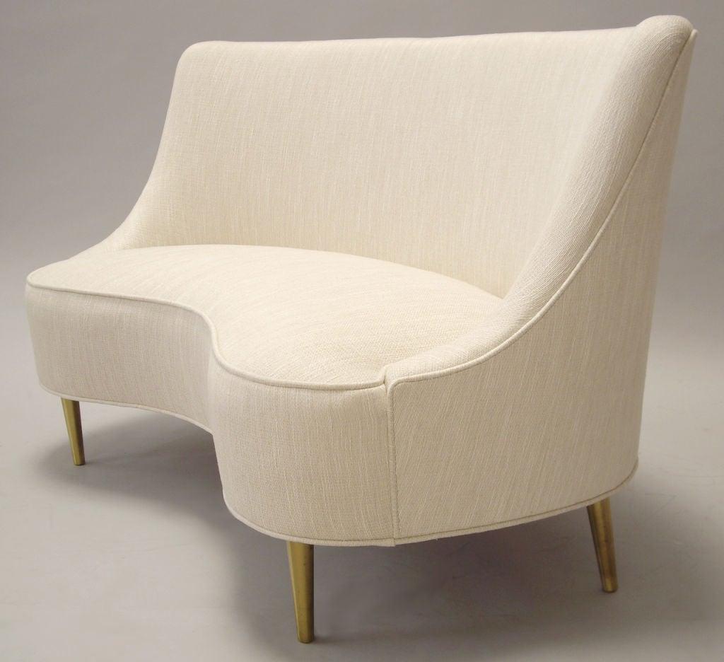 Edward Wormley (1907-1995) Rare Upholstered Sofa 2
