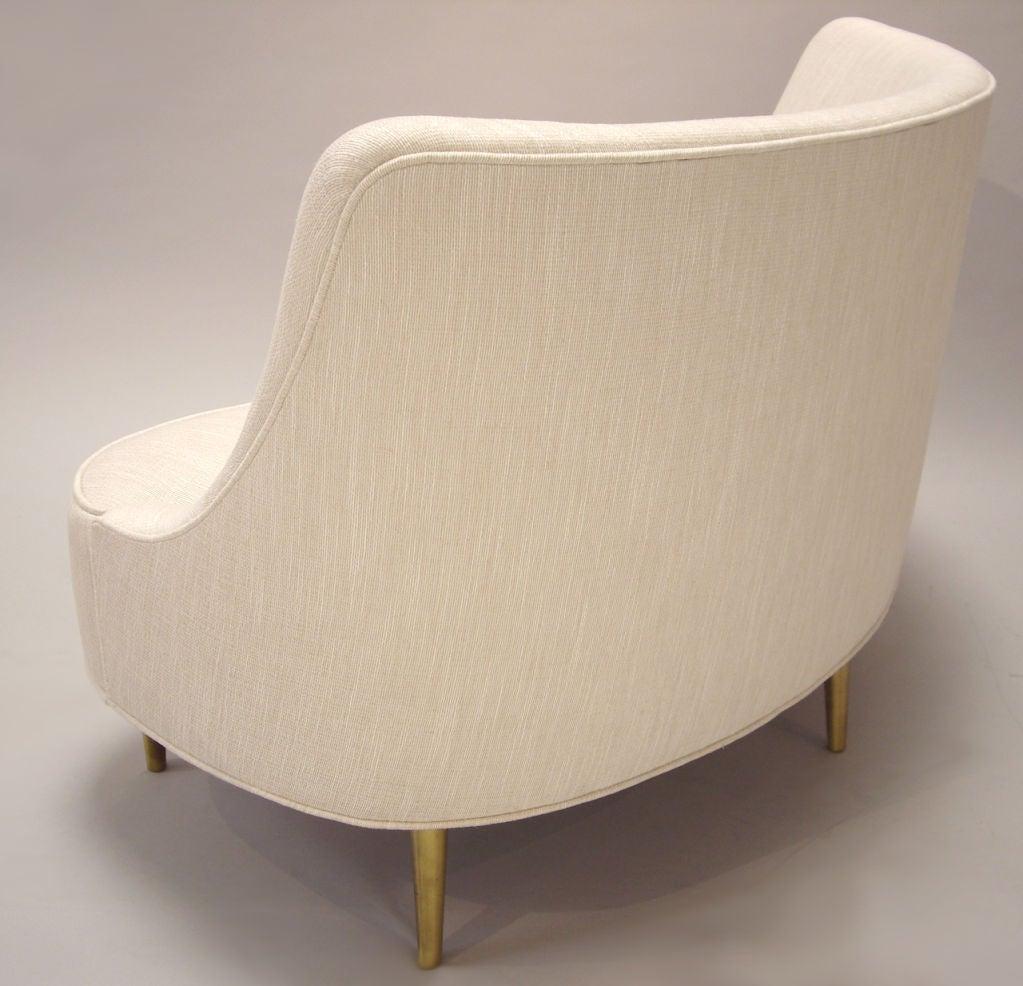 Edward Wormley (1907-1995) Rare Upholstered Sofa 3