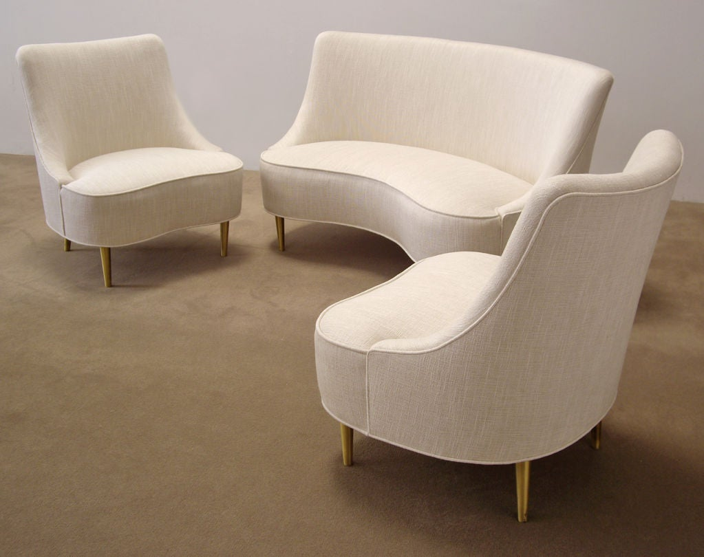 Edward Wormley (1907-1995) Rare Upholstered Sofa 5
