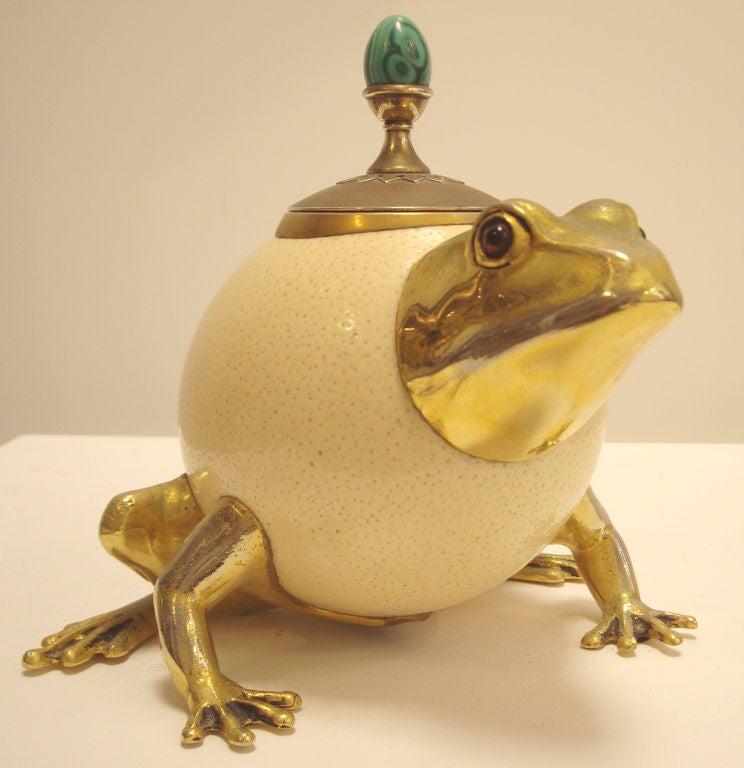 Anthony Redmile Ostrich Egg Frog Vessel At 1stdibs