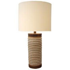Brent Bennett (California 1960s) Large Stoneware Lamp