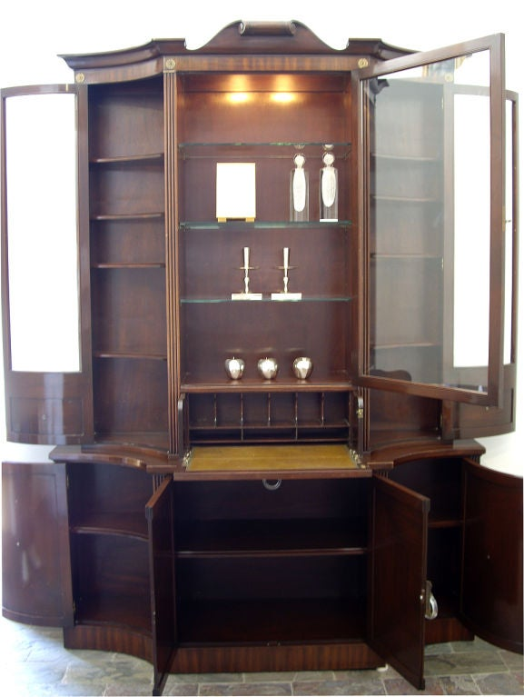 1940s grosfeld house cabinet desk with lucite pulls for for 1940s kitchen cabinets for sale