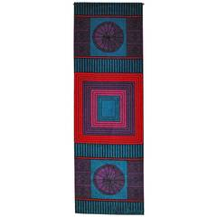 Pierre Cardin, Signed Wool Tapestry