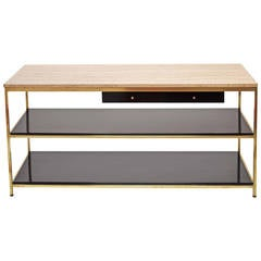 Paul McCobb Console with Two Drawers