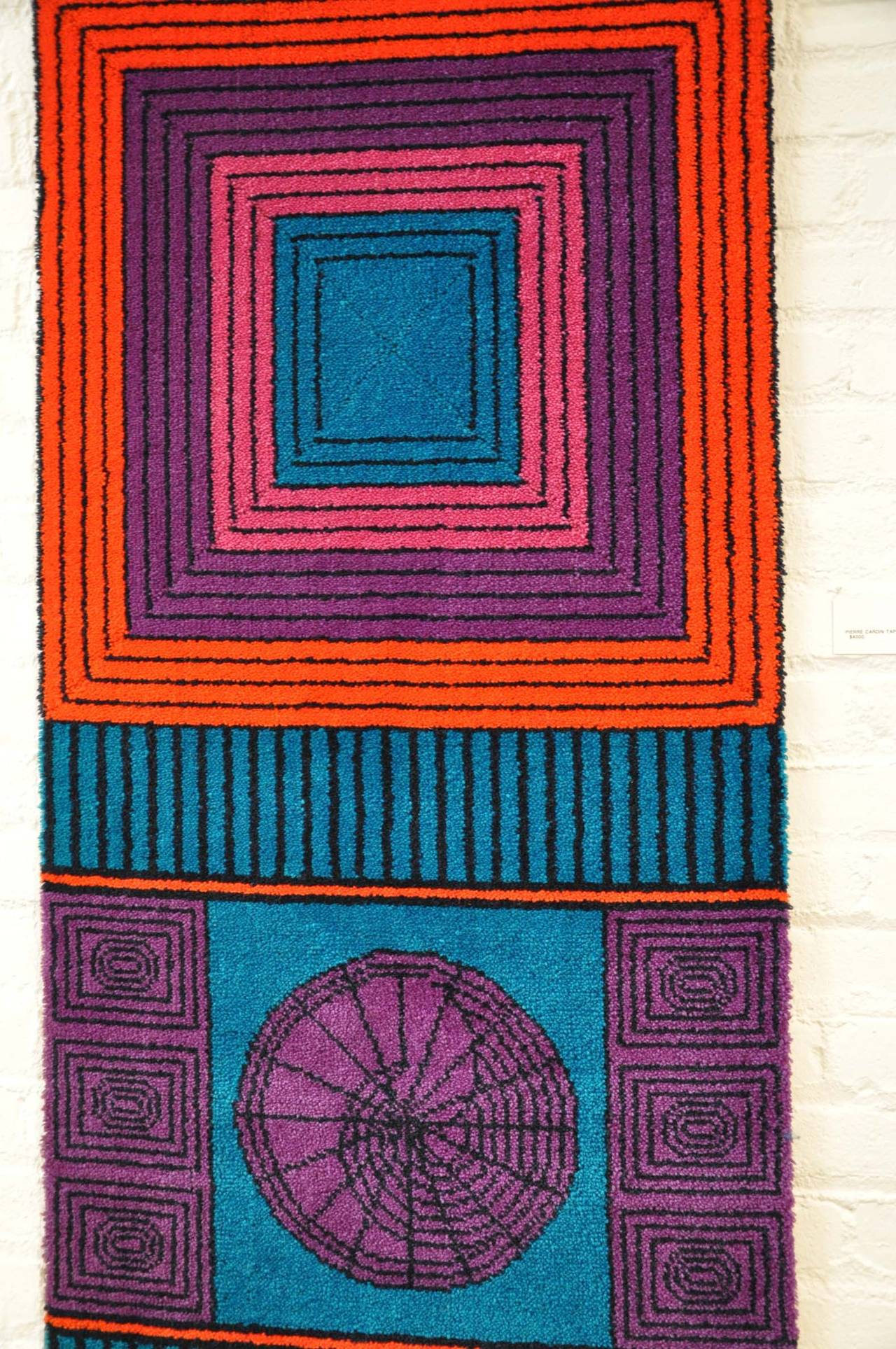 Pierre Cardin, Signed Wool Tapestry 4