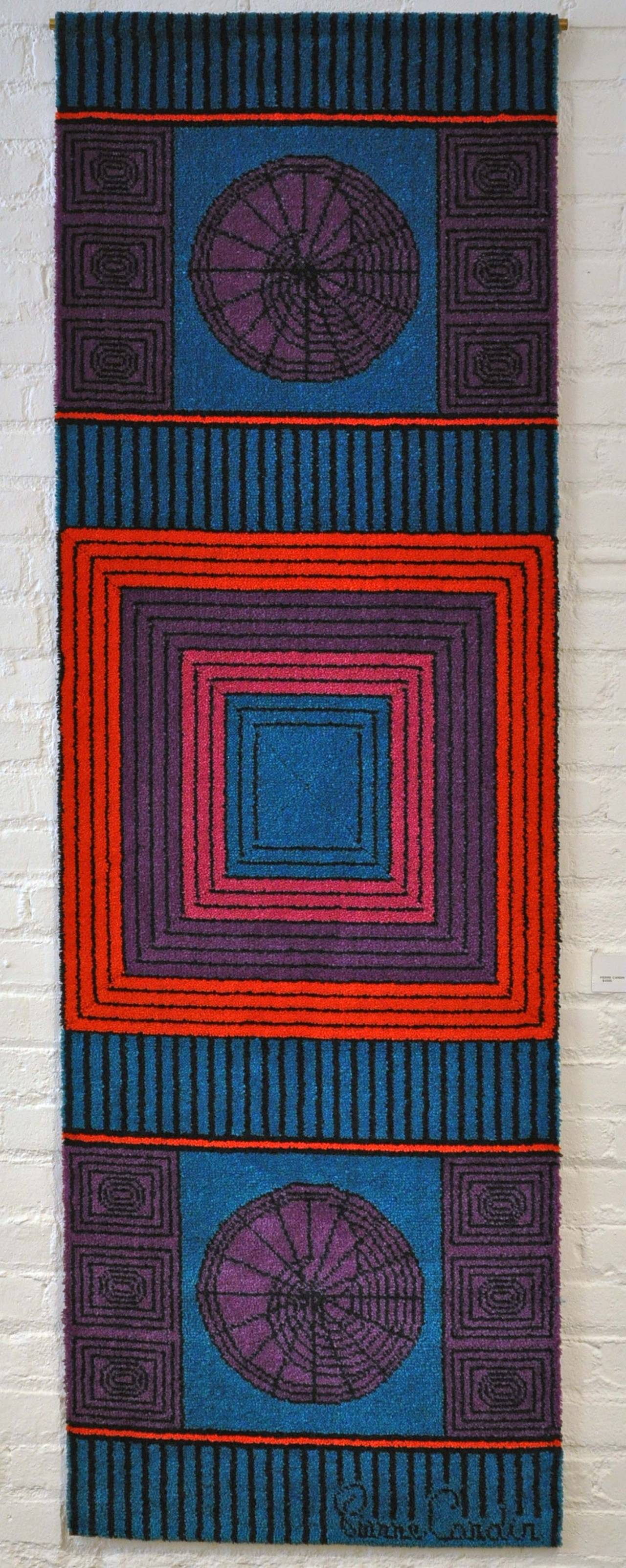 Pierre Cardin, Signed Wool Tapestry 3