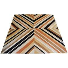 Signed Edward Fields, 1974 Wool Carpet