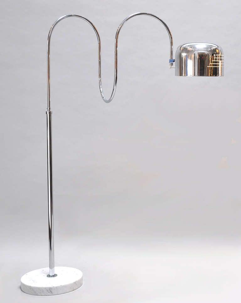 1970s italian adjustable floor lamp at 1stdibs for 1970s floor lamps