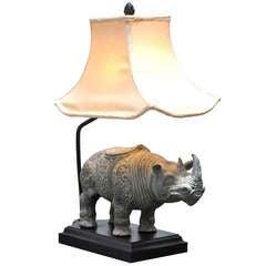 Rhinoceros Table Lamp