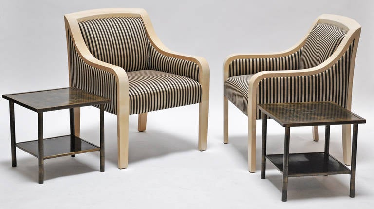 Armchairs J. Robert Scott set of Four 4