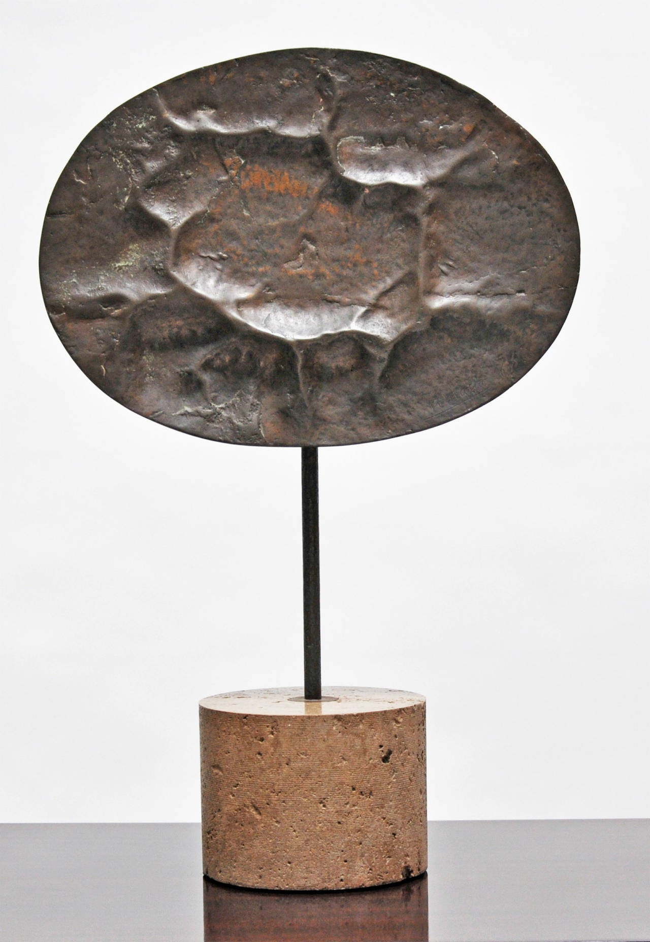 Amalia Schulthess, Cast Bronze and Stone Sculpture, 1960s 4
