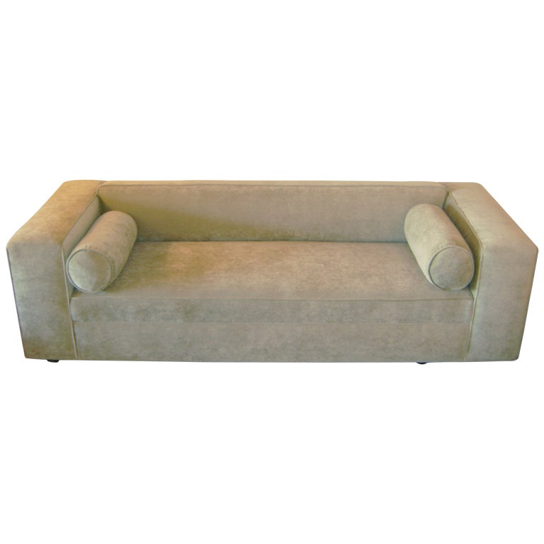 Michael Taylor Custom Sofa At 1stdibs