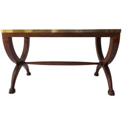 Robsjohn Gibbings for Baker Cloven Foot Stool/Table