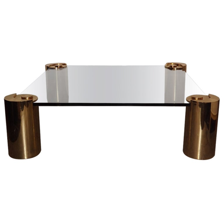 Karl Springer Sculpture Series Large Cocktail Table At 1stdibs
