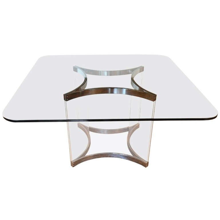 Alessandro Albrizzi Square Dining Table For Sale