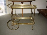 Fanciful Brass Barcart thumbnail 2