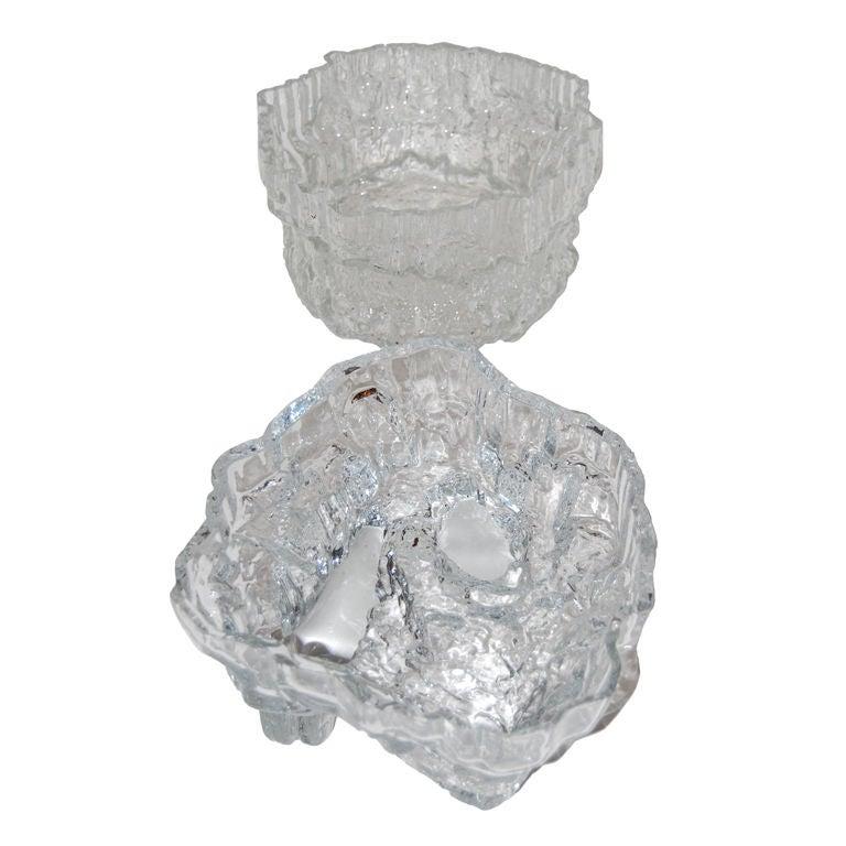"Rare Massive Tapio Wirkkala ""Ice"" Centerpieces"