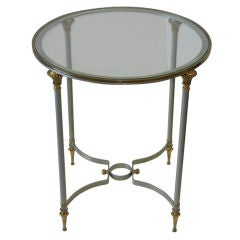 Maison Jansen Round Occasional Table