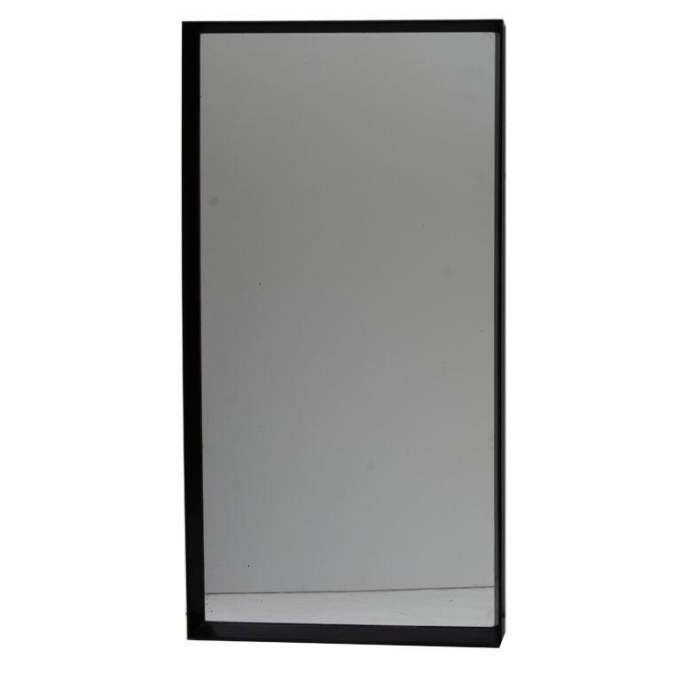 Paul frankl thin edge rectangular wall mirror at 1stdibs for Thin wall mirror