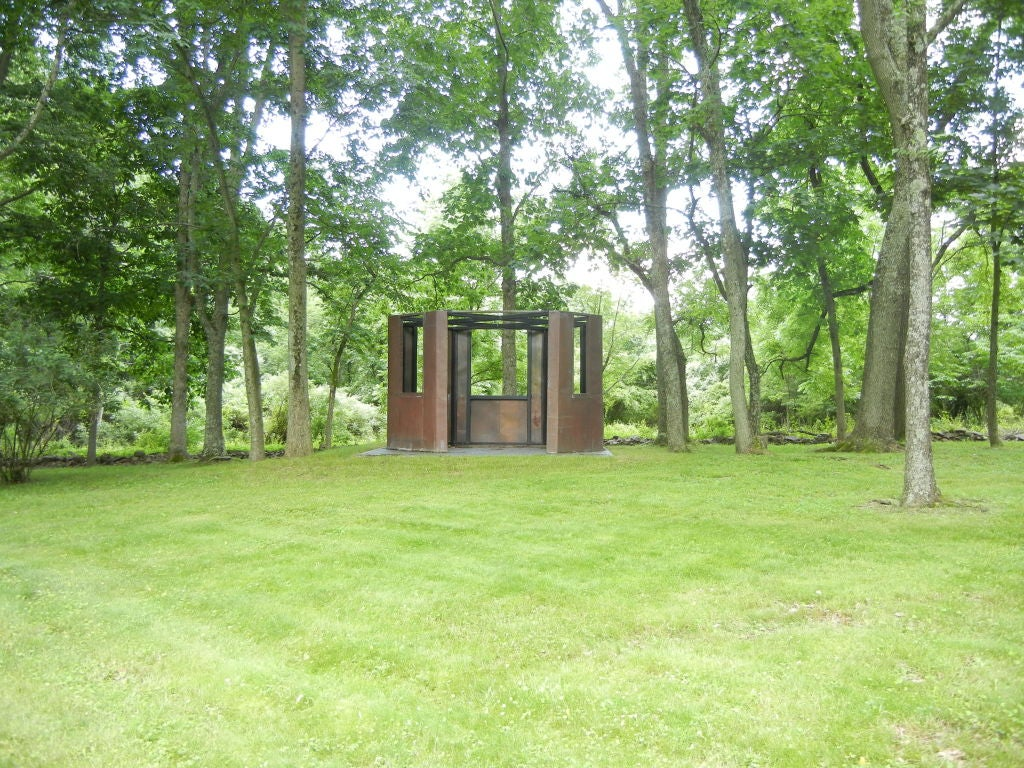 American Frank Gehry Copper Panelled Gazebo For Sale