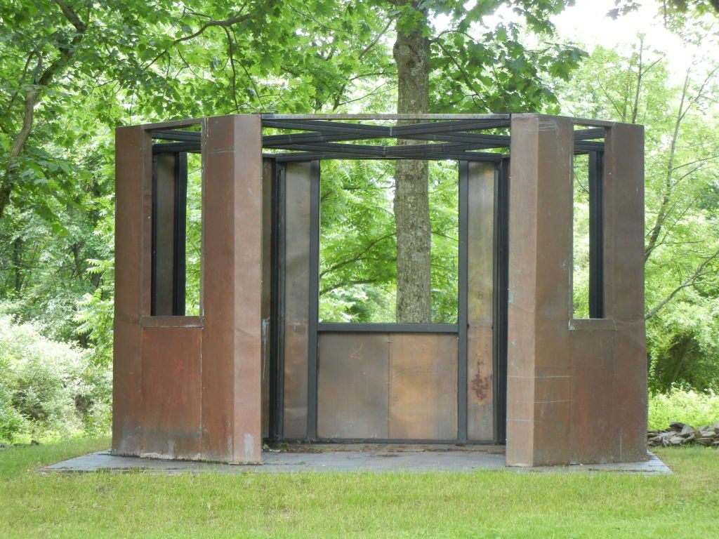Frank Gehry Copper Panelled Gazebo 4