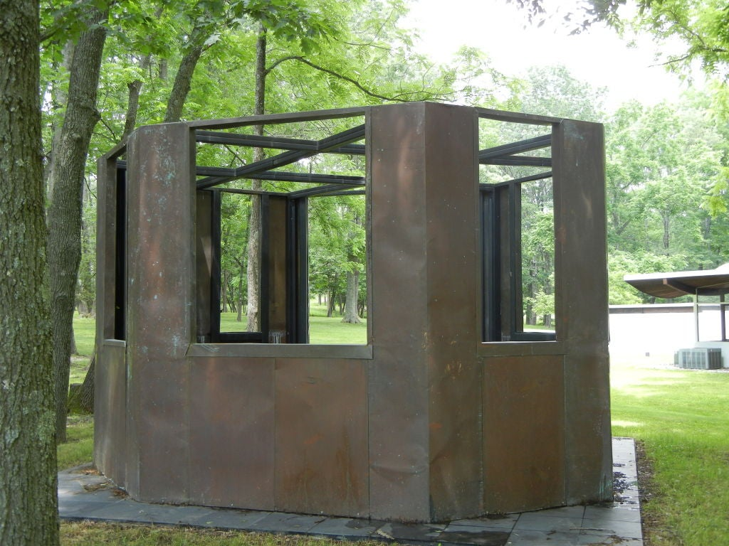 20th Century Frank Gehry Copper Panelled Gazebo For Sale