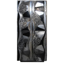 "Rare Paul Evans ""Argente"" Series Two Door Cabinet"