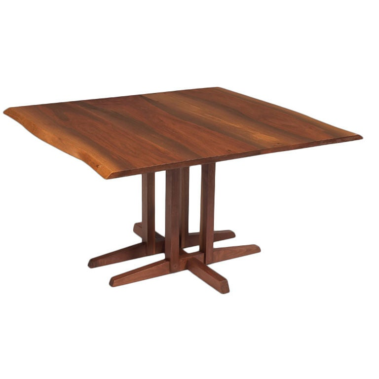 "George Nakashima ""Frenchman s Cove"" Square Table at 1stdibs"
