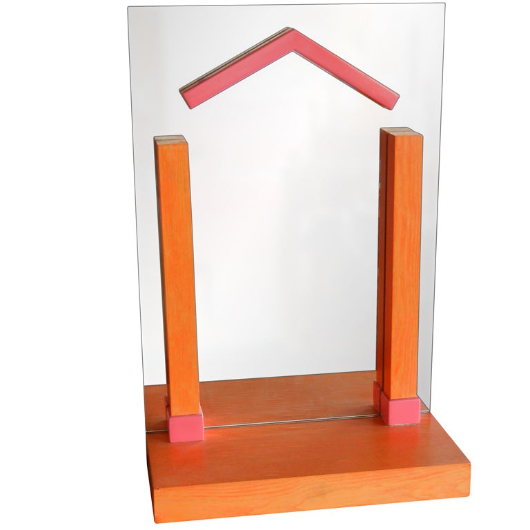 Ettore Sottsass Table Mirror
