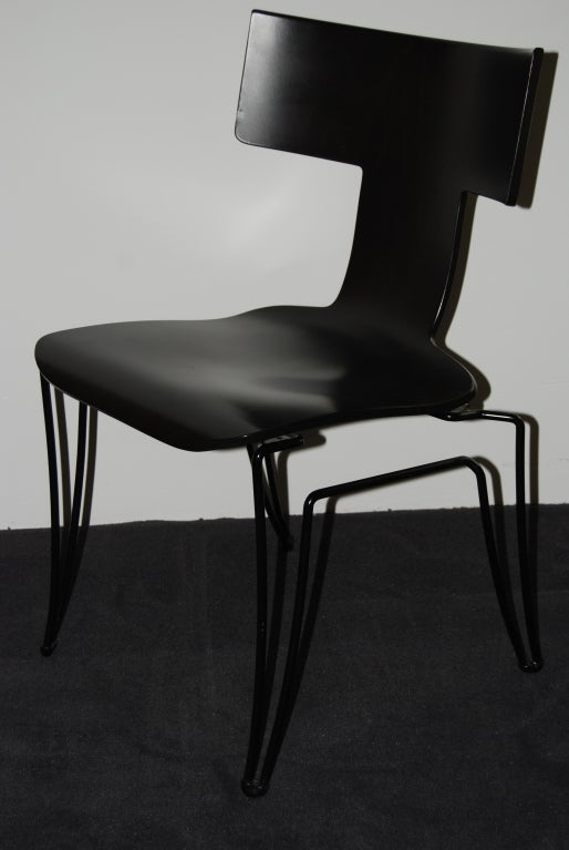 8 anziano chairs by john hutton for donghia at 1stdibs for A la mode salon hudson wi