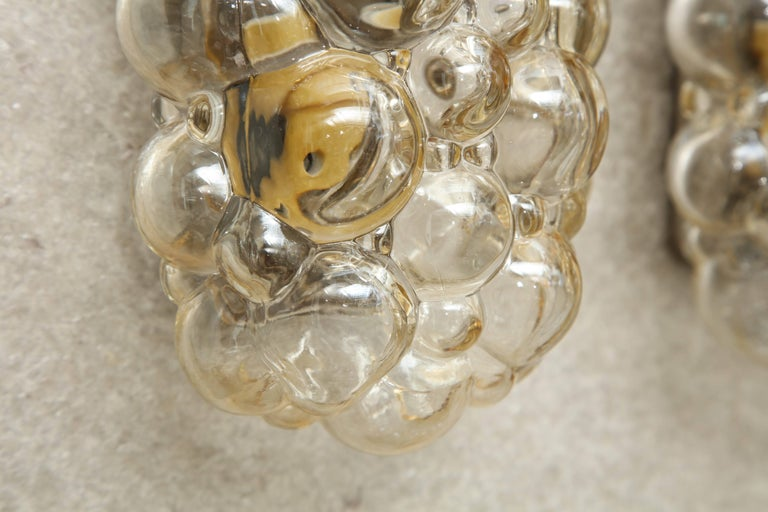 Helena Tynell/Limburg Bubble Glass Sconces, Two Pairs 2