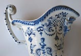 A Good Pair of French Blue&White Tin-Glazed Faience Pitchers thumbnail 7