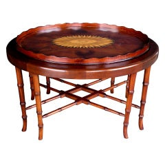 Exceptionally Large & Handsome English George III Tray Table