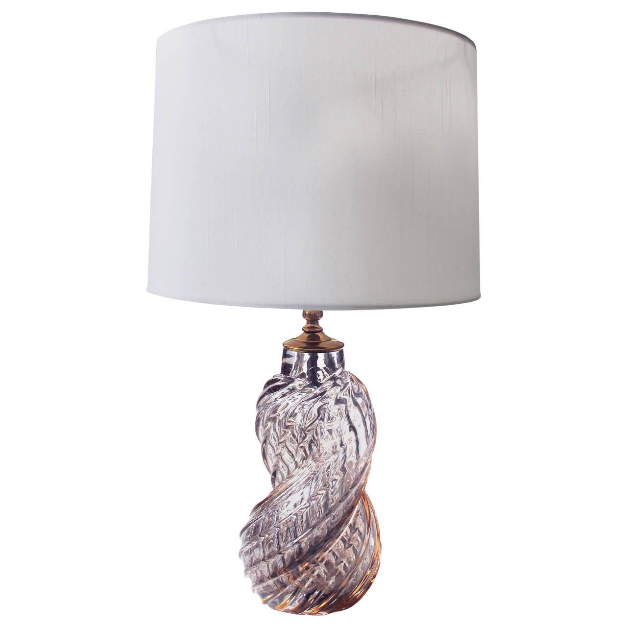 Murano 1960s helix form lamp of aubergine art glass by barbini at murano 1960s helix form lamp of aubergine art glass by barbini 1 geotapseo Choice Image