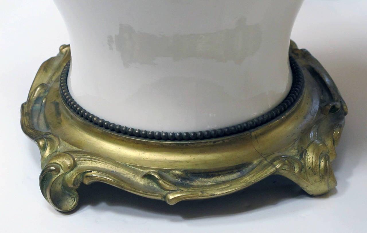 Superb german nymphenburg porcelain blanc de chine for Table de chine