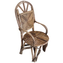 Fantastic Twig Chair From The Midwest