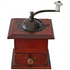 Rare Miniature 19th Century Salesman's Sample Coffee Grinder