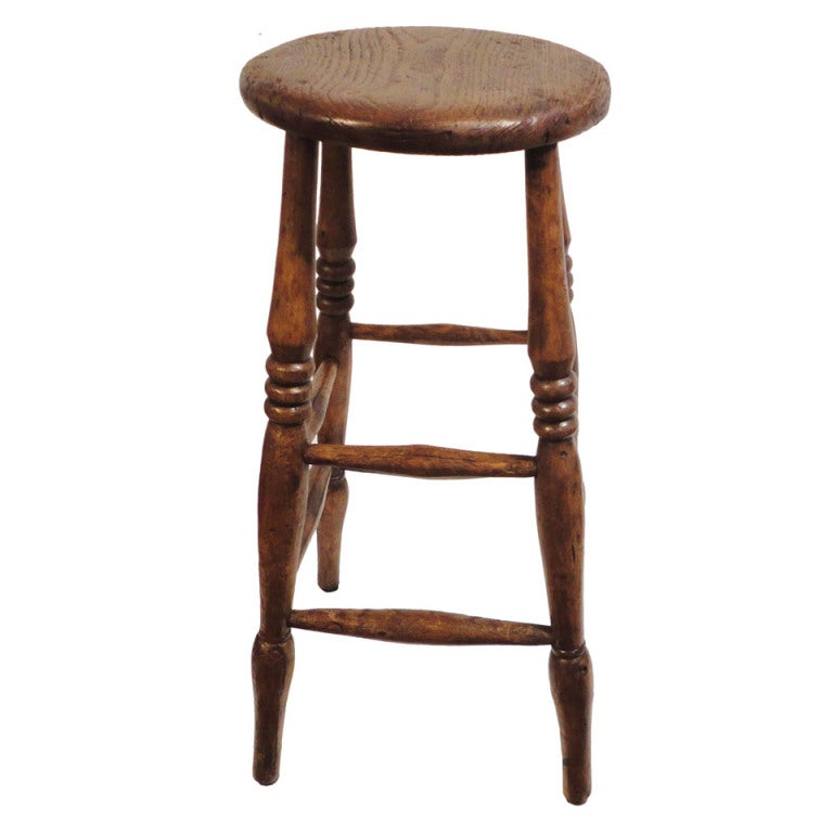 19thc English Pub Bar Stool At 1stdibs