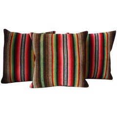 Mexican Serape Colorful Weaving Pillows