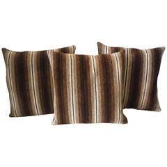 Mexican Serape Striped Weaving Pillows