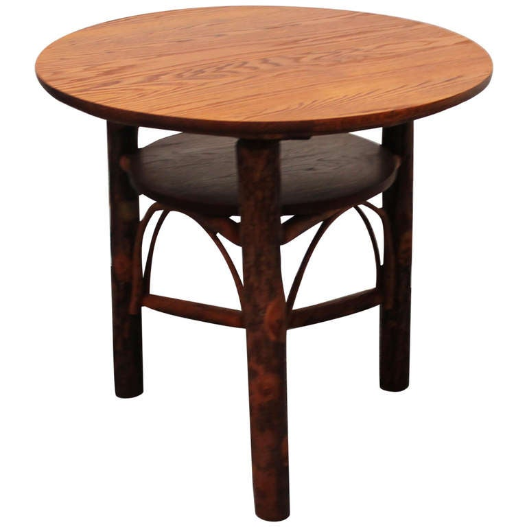... Old Hickory Furniture Antique Table. on old hickory furniture