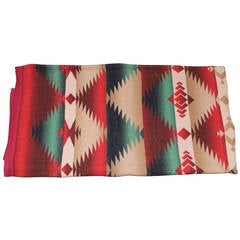 Vibrant and Geometric Beacon Indian Design Camp Blanket