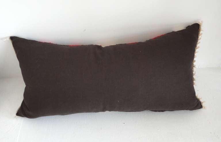 Navajo Indian Weaving Bolster Pillows 4 At 1stdibs