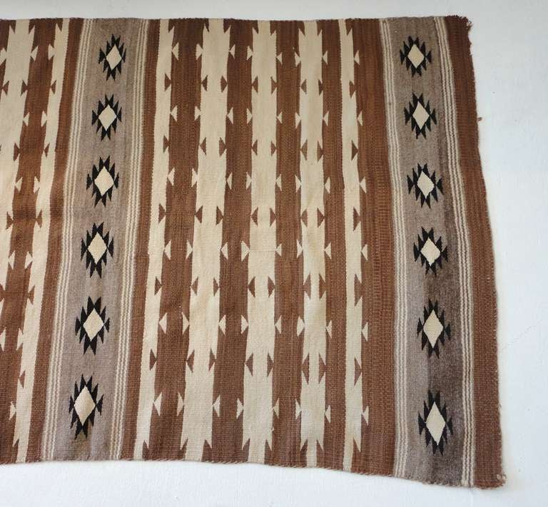 Early Navajo Indian Geometric Weaving At 1stdibs